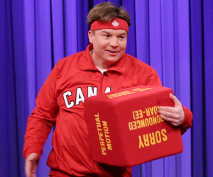 Mike Myers Makes Rare Late Night Appearance for Wild Dance-Off with Jimmy…