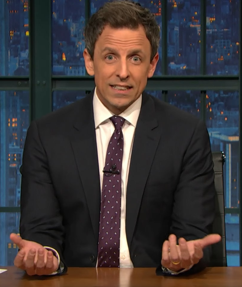 Seth Meyers Shreds President Trump for 'Lying' About Voter Fraud (Video)