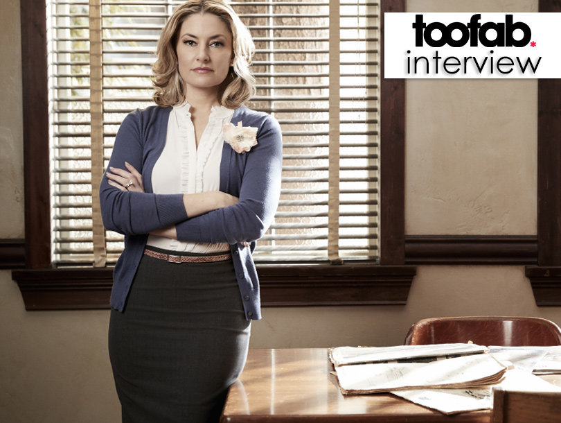 Mädchen Amick on 'Riverdale' Similiarities to 'Twin Peaks,' 'Gossip Girl' -- And Being CW's 'Older Generation'