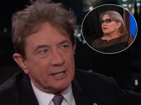 #TBT That Time Martin Short and Carrie Fisher Wore Matching Oscar Dresses