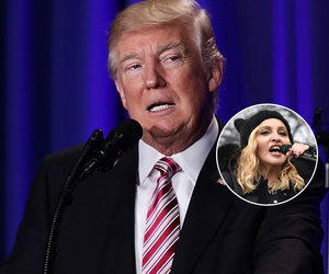 Trump Blasts Madonna as 'Disgusting'
