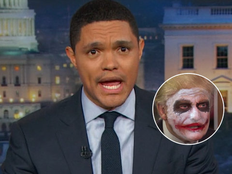 Trevor Noah Gives Trump a Villainous Makeover