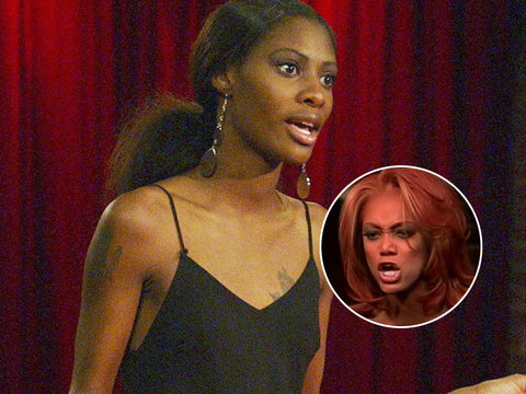 Ex-'Top Model' Spills the Tea on Tyra