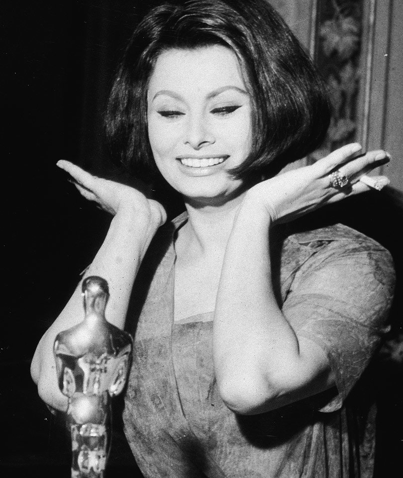 19 Vintage Photos from Oscars' Past (Photo)