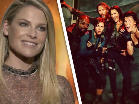 Ali Larter Details Bloody Champagne Toasts & Tooth Chipping Filming 'Resident Evil: The…