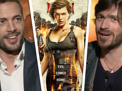 The Men of 'Resident Evil' on Kicking Zombie Butt