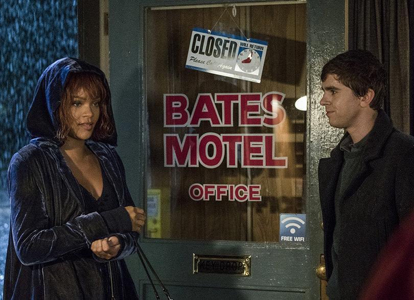 See First Look at Rihanna Checking Into 'Bates Motel' for Final Season (Video + Photos)