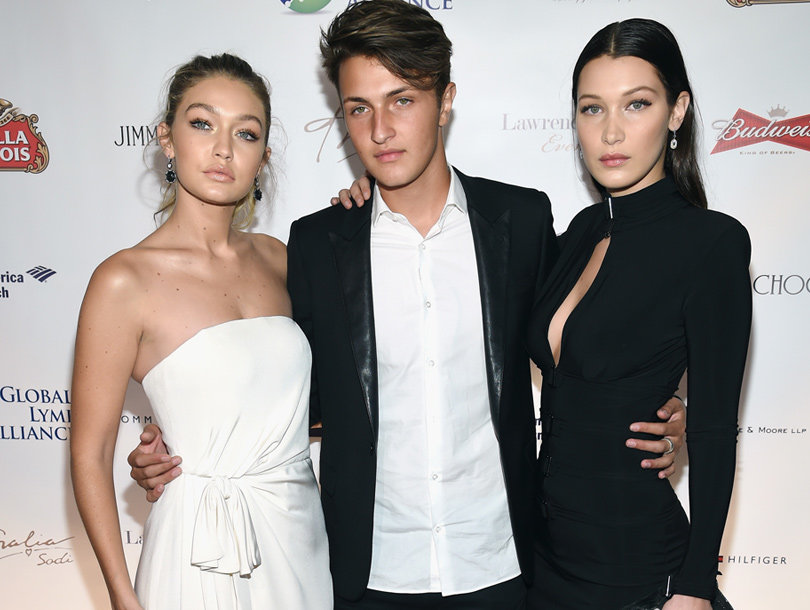 House of Hadid: Gigi Hadid's Lil' Bro Anwar Joins Her in March Issue of…
