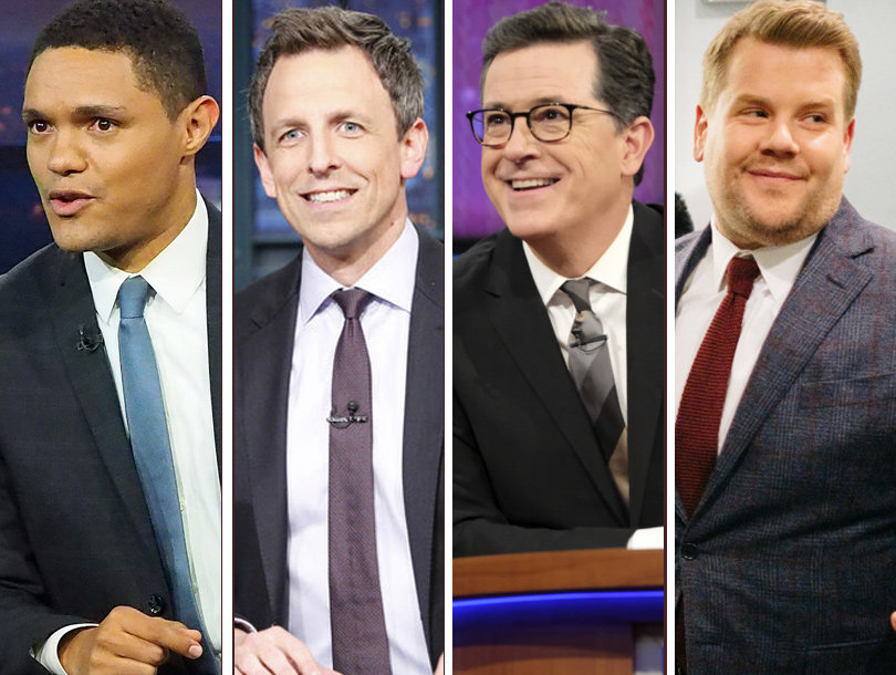Late Night TV Out Trumps Each Other in Immigration Takedowns