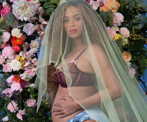 Beyonce Pregnant with Twins -- See Her Bare Bump Pregnancy Announcement