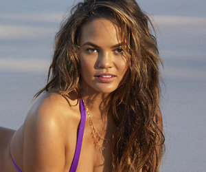 See Chrissy Teigen's First Post-Baby Bikini Shoot for Sports Illustrated…