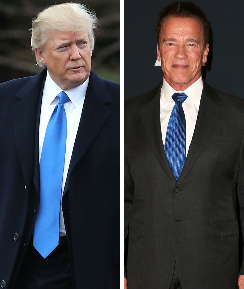 Arnold Fires Back at Trump's 'Apprentice' Diss