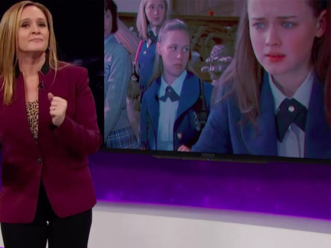 Samantha Bee Thinks Trump's Antics Are Like an Episode of 'Gilmore Girls' (Video)