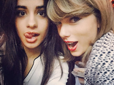 Camila Cabello Reveals Why Taylor Swift Is Her Go-To Love Guru