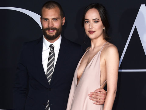 'Fifty Shades Darker' Premiere: Jamie Dornan, Dakota Johnson Hit One Sexy Red Carpet…