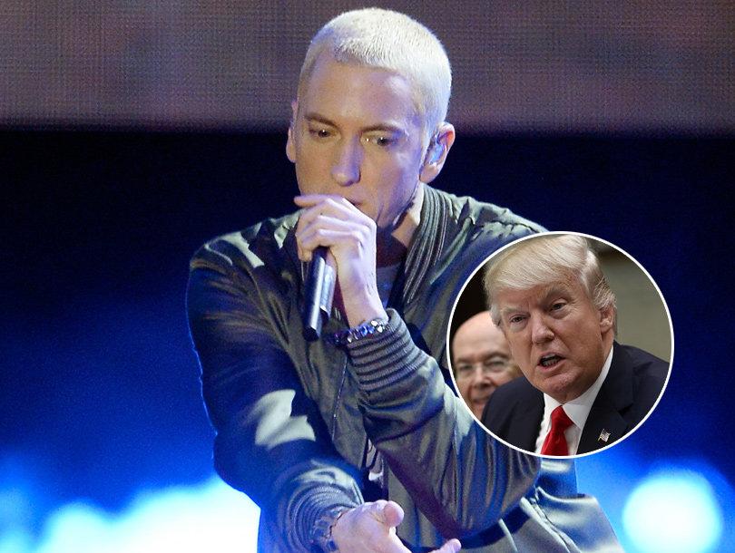 Eminem Disses Donald Trump In New Rap Track with Big Sean (Audio)