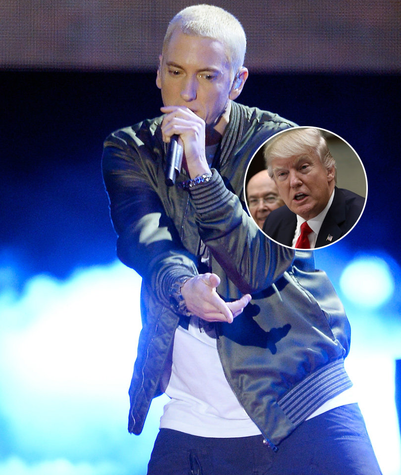 Eminem Disses Donald Trump In New Rap Track with Big Sean (Audio)