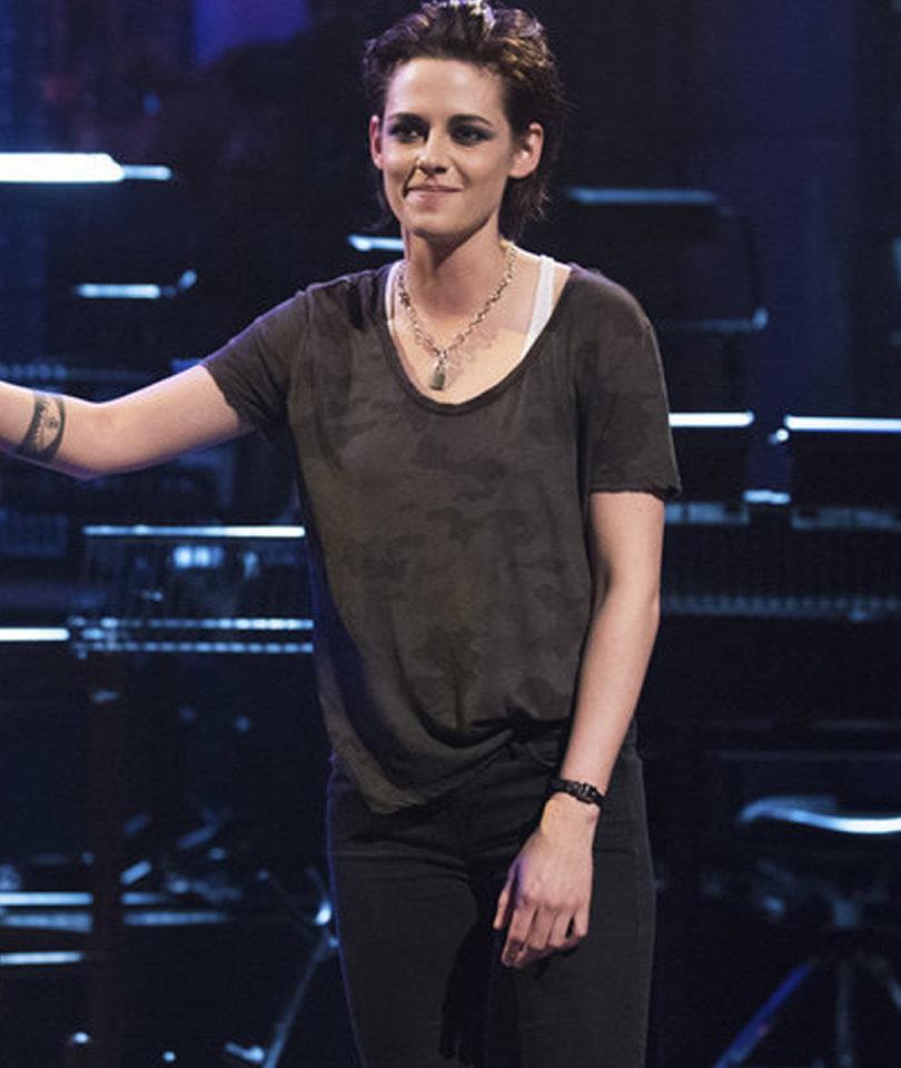 Kristen Stewart Sorta Sings in Teaser for First SNL Hosting Gig (Video)