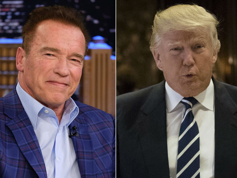Arnold Schwarzenegger Thinks Donald Trump Is a 'Skunk' And Wanted to Smash His Face Over Ratings Diss