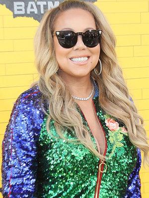 Mariah Carey Brings Twins Monroe and Moroccan to 'Lego Batman' Premiere (Photos)