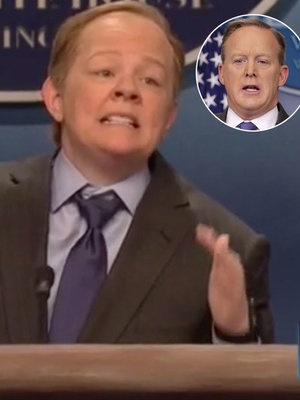 'SNL': Melissa McCarthy Steals Show as Sean Spicer ...