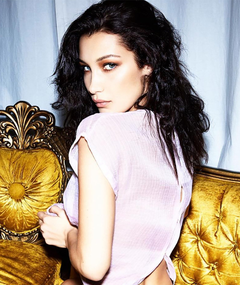 Bella Hadid Flaunts Tons of Skin in Racy Lingerie (Photos)