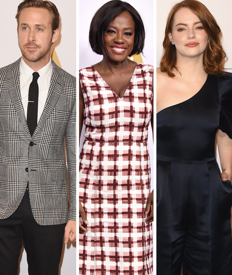 Gosling, Davis, Stone And More Oscar Nominees Attend Annual Luncheon (Photos)