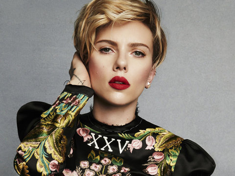 Scarlett Johansson on 'Ghost In the Shell' Casting Controversy And That Time Mark…