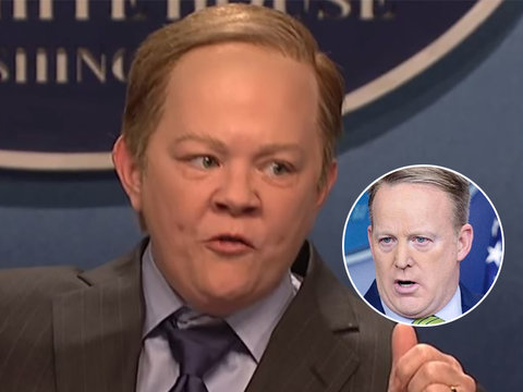 See What Sean Spicer Really Thought About Melissa McCarthy's 'SNL' Impersonation