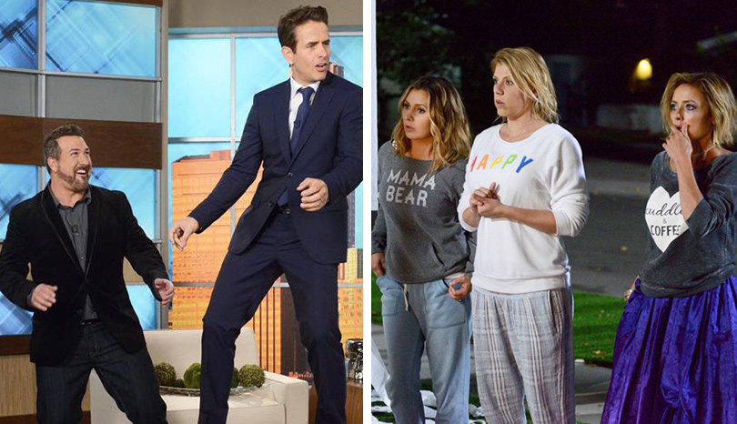 First Look at '7th Heaven,' 'Full House,' 'Step By Step' and NKOTB Stars Return to TV (Video)