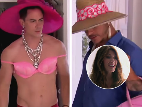 What to Expect on 'Vanderpump Rules' When Jax and Tom Raid Lisa's Closet: Boys in Drag!…