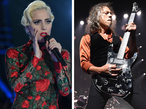 Leaked Grammy Promo Reveals Lady Gaga Will Duet With Metallica (Video)