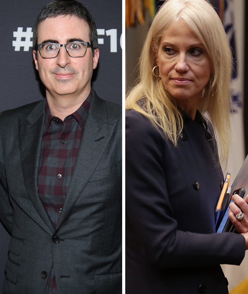 John Oliver Really Doesn't Get Why Anyone Talks to Kellyanne Conway