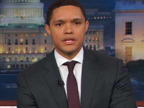 Why Trevor Noah Thinks Steve Bannon Is the 'Real President' and Donald Trump Is the New…