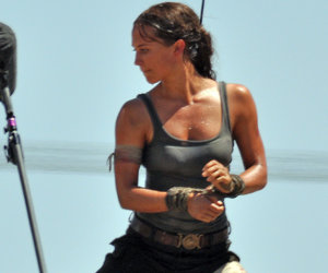 Alicia Vikander Transforms Into Lara Croft In First 'Tomb Raider' Set Images…
