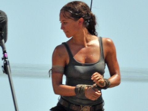 Alicia Vikander Transforms Into Lara Croft In First 'Tomb Raider' Set Images (Photo)