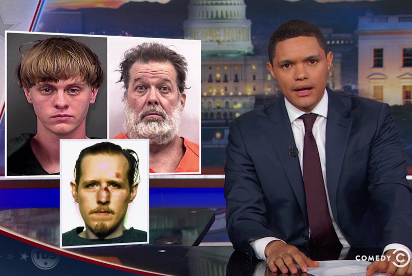 Trevor Noah Blasts Trump for Ignoring White Terrorism (Video)