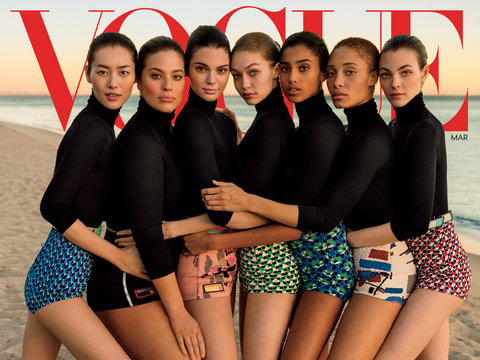 The Vogue's Diversity Issue -- See Photos