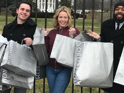 Chelsea Handler Trolls Donald Trump With Nordstrom Shopping Spree (Photos)