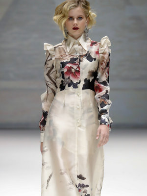Kelsey and Camille Grammer's Teenage Daughter Walks In NYFW Runway Show (Photo)