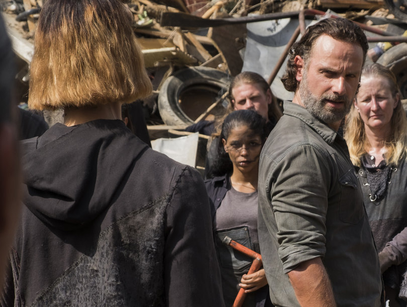 'The Walking Dead': Who the F--k Was That And 4 Other Burning Questions From Mid-Season Premiere