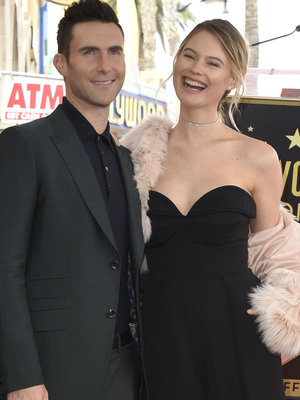 Adam Levine's Daughter Dusty Rose Steals the Show at His Hollywood Walk of Fame Ceremony…