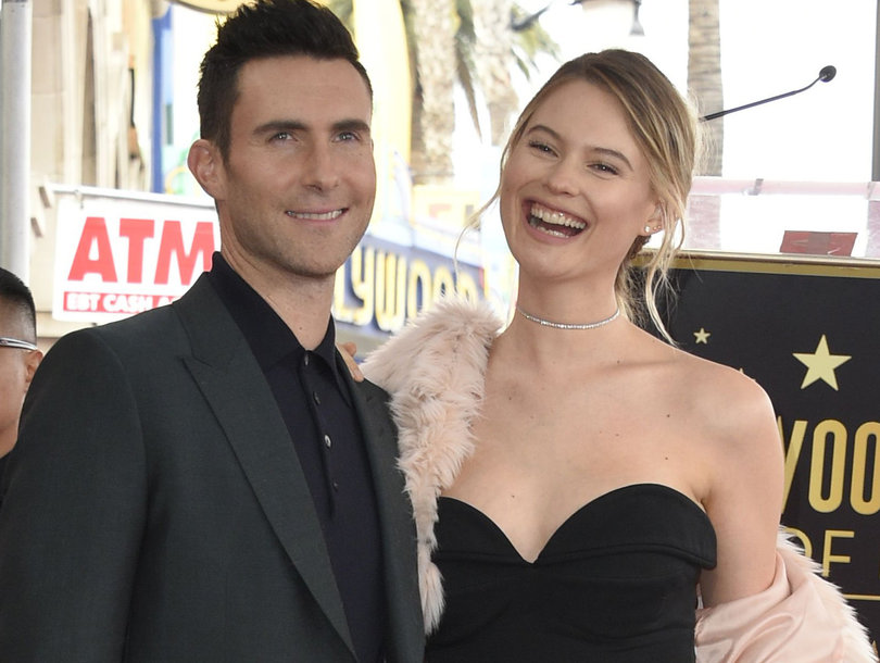 Adam Levine's Daughter Dusty Rose Steals the Show at His Hollywood Walk of Fame…
