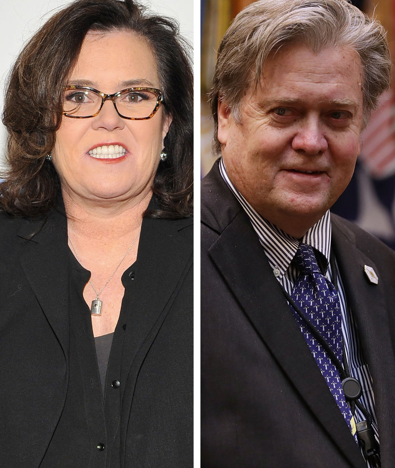 Rosie O'Donnell Embraces Uncanny Steve Bannon Resemblance With Must-See Twitter…