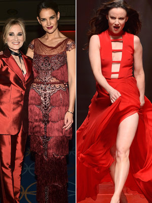 Katie Holmes, Juliette Lewis, Xena and More Rock 'Go Red for Women' Runway at NYFW (Photos)