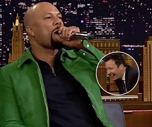 Common and The Roots' Black Thought Played 'Wheel of Freestyle' on Fallon and…