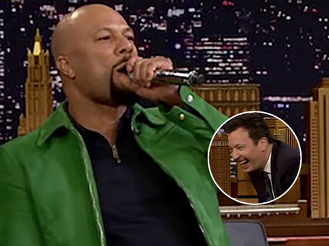 Common and The Roots' Black Thought Played 'Wheel of Freestyle' on Fallon and Absolutely…