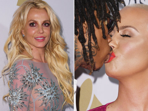 Grammy Pre-Party: Britney Resurfaces After Niece's Hospitalization, Exes Amber Rose and…