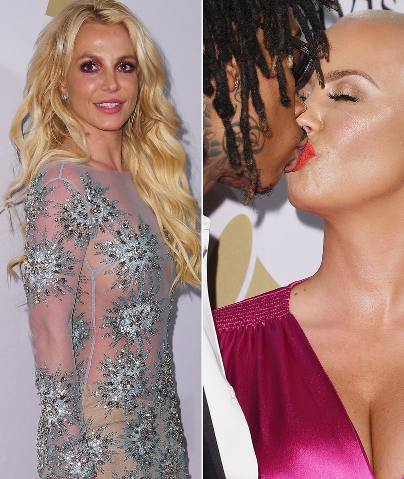Grammy Pre-Party: Britney Resurfaces After Niece's Hospitalization, Exes Amber…