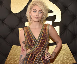 Paris Jackson Rocks Balmain on the Red Carpet at the Grammys (Photos)